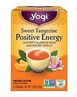 Yogi Sweet Tangerine Positive Energy 16 Tea Bags Packaging May Vary 1