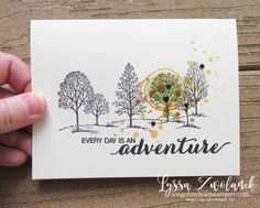 Dare to Dream adventure awaits  is out there every day hostess exclusive stamp set Stampin Up
