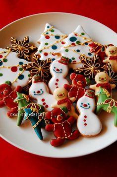 クリスマスのアイシングクッキーと嬉しいプレゼント♪ | アイシングクッキーおかしのこびとのブログ