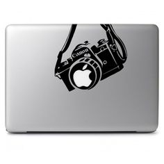 Canon Camera Macbook Air-pro 11 13 15 17 Stickers,decal ($4.50) ❤ liked on Polyvore featuring accessories and tech accessories