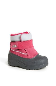 The North Face 'Powder Hound' Waterproof Snow Boot (Walker & Toddler) available at #Nordstrom