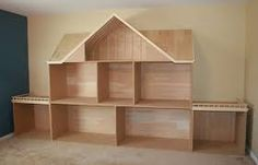 making a doll house from pallets - Google Search