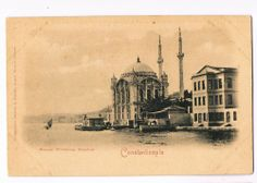 Turkey / Constantinople - Mosquee d'Ortakeuy - Arct. Armenian Balyan