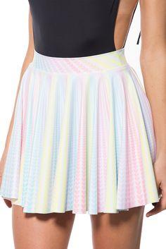 Little Lovers Cheerleader Skirt – Black Milk Clothing Cheerleader Skirt, Dress Skirt, Skirt Set, Sweet Style, My Style, Black Milk Clothing, My Black, Vintage Skirt, Cheer Skirts