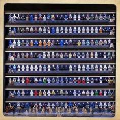 Insane Star Wars LEGO minifig collection.