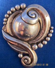 Margot de Taxco 925 Pin