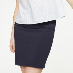 erhältlich in Nein - Röcke Jersey Solid, 96% Baumwolle (bio), 4% Elasthan, fitted, GOTS, organic, CERES-008 - nachhaltige Materialien und faire Produktion