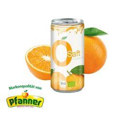 Fruchtig aus sonnengereiften Bio Orangen. Er stammt aus kontrolliert biologischem Anbau und ist reich an natürlichen Vitamin C.  ab 264 Stk. Vitamin C, Orange Juice, Organic Gardening, Promotional Giveaways, Products