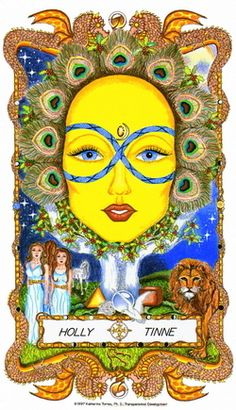 ☆ Holly Tinne » Fr0m: The Faces of WomanSpirit A Celtic Oracle of Avalon :¦: By Katherine Torres, Ph.D. ☆