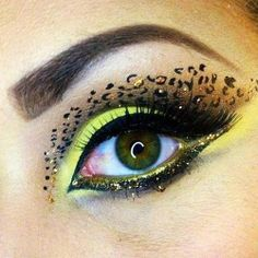 they have the eye tattoos at Wal-Mart & Dollar General & already have the other colors & such