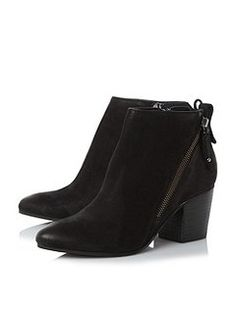 Jaydun side zip ankle boots