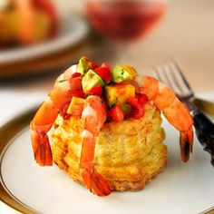 Pepperidge Farm® Puff Pastry: Salsa Shrimp Cocktail Cups
