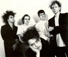 THE CURE - band 1987