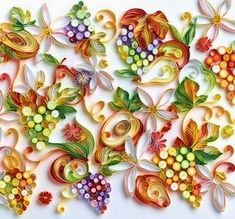 Rolled Up Paper Art Portraits | 17-Quilling Portraits Russian Yulia Brodskaya Advertising -www ...