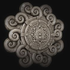 Create an Intricate Mayan Flower using ZBrush