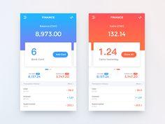 Finance app – iOSUp