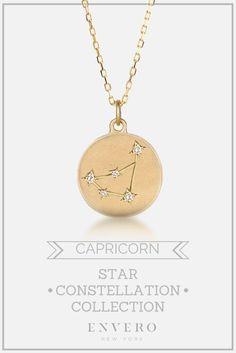 Capricorn Constellation Necklace – Envero Jewelry