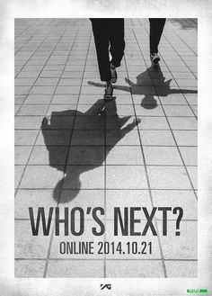 YG Entertainment drops another hint for October promotions on latest 'Who's Next? Yg Life, Yang Hyun Suk, Who Is Next, Meme Center, Talent Agency, Korean Music, Derp, Yg Entertainment, Luhan