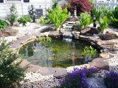 Estanques de jardín - https://www.jardineriaon.com/estanques-de-jardin.html #plantas