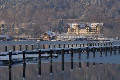 Lake Wörthersee in winter. Paris Skyline, New York Skyline, Klagenfurt, Winter, Places, Summer, Travel, Life, Beautiful