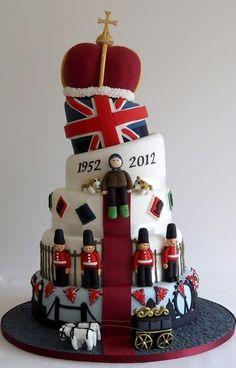 Gâteau London - soirée ambiance royale !