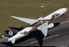 """Air New Zealand """"The Hobbit"""" Boeing 777-319/ER aircraft picture"""