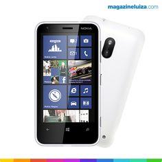 O seu novo smartphone pode ser esse aqui! Nokia Lumia 620: http://maga.lu/13GNsAB
