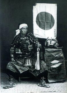 Samurai man, looking haggard but not uncool