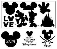 Personalized Iron On Disney World inspired by babystrawberries