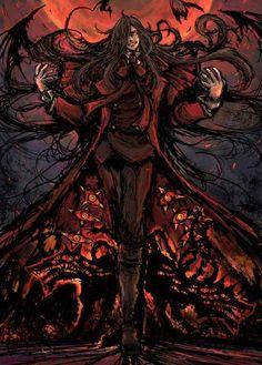 hellsing and alucard kép