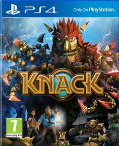 Knack (PlayStation --- Consoles New Releases 24 Hour Deals Buy Five Star Products With Up To Discount Play Stations, Ps4 Games For Kids, Zombies, Arcade, Killzone Shadow Fall, Films Hd, Ps4 Video, Dvd Box, New Ps4
