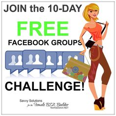 Waiting to get into the FREE challenge? We are up to  55 FAB LADY BOSS so far!!! YAY! Challenge BEGINS OCTOBER 26TH. WANT IN? SUBSCRIBE NOW. I'm capping the entries at 75 so Hurry Ladies! :) Link is below... ----->>> FREE 10-DAY FACEBOOK GROUP CHALLENGE: NOT only for group admins. Learn the skills you need to find your ideal niche build a following and convert these into clients & sales. ---->>> DO NOT MISS the opportunity to raise the bar on your communication skills! ----->>> Challenge…