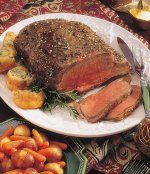 Texas Beef Council - Recipe Book - Special- Peppery Beef Rib Roast