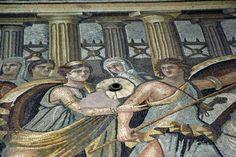 zeugma mosaics from the Roman period in Turkey http://katieparla.com/zeugma-mosaic-museum-antep/