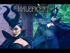 Maleficent Make Up Tutorial - Charakteryzacja na Diabolinę - YouTube. Great lips tips!! AA