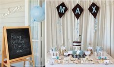 Style Me Gorgeous: My Sweet Little Boy's First Birthday