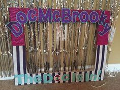 Custom Doc McStuffins Photo Booth Frame #DocMcStuffins