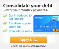 Consolidate Your Debt & Lower Your Monthly Payments
