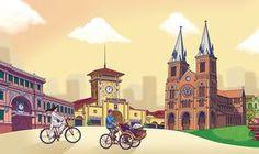 HO CHI MINH CITY on Behance