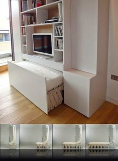 small bedroom decorating ideas original Murphy bed design