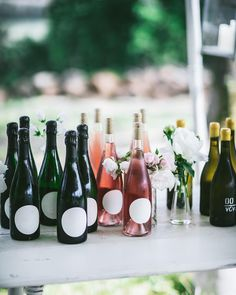 @oursecretsupper A #wine table to welcome your guests to your outdoor gathering! #gather #tablescape Wine Station, Outdoor Dinner Parties, Wine Table, Rustic Outdoor, Some Ideas, Tablescapes, Entertaining, Party, Table Scapes