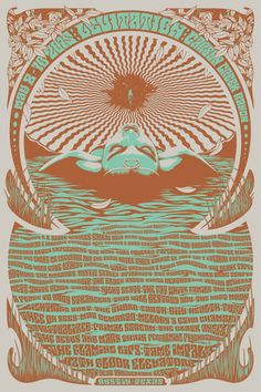 Official 2015 Levitation Poster