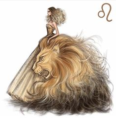 "Zodiac Haute Couture ""Leo"" Fashion Drawing by Shamekh Bluwi Fashion Design Drawings, Fashion Sketches, Zodiac Art, Zodiac Signs, Leo Zodiac Facts, Arte Fashion, 90s Fashion, Dress Fashion, Leo Season"
