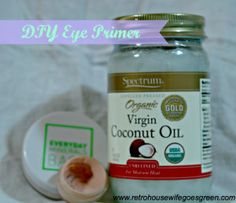 DIY Eye Primer #diymakeup