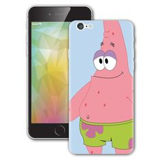 Spongebob Patrick iPhone sticker Vinyl Decal
