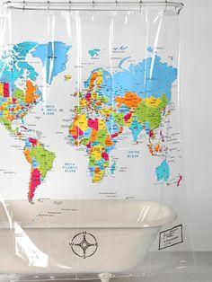 Gosta de viajar? No nosso blog você encontra inspirações de decor com mapas e indicações de produtos super bacanas da Mobly com estampa de mapa mundi para deixar a sua casa com a sua cara!
