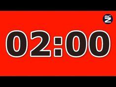 2 minute countdown timer - Conto alla rovescia 2 minuti - YouTube