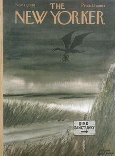 Charles Addams : Cover art for The New Yorker 1917 - 11 November 1961