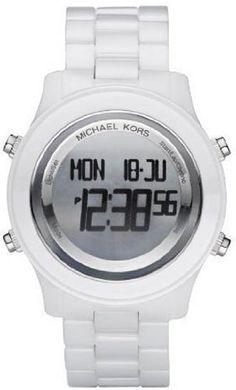 Michael Kors Digital White Ceramic Bracelet Ladies Watch MK5359 Michael Kors. $199.00. Save 56% Off!