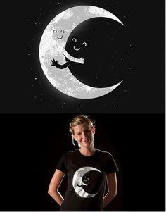 Tragen das Shirt zu schlafen,gute Nacht